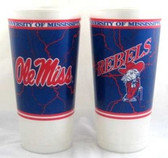 Mississippi Rebels Souvenir Cups