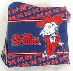 Mississippi Rebels Lunch Napkins