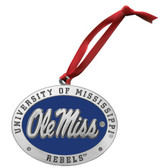 Mississippi Rebels Logo Ornament