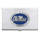 Mississippi Rebels Business Card Case Set