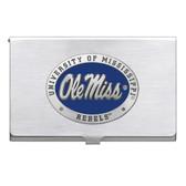 Mississippi Rebels Business Card Case Set