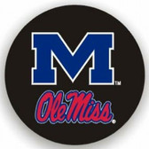 Mississippi Rebels Black Spare Tire Cover