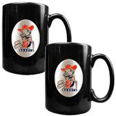 Mississippi Rebels 2pc Coffee Mug Set
