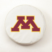 Minnesota Golden Gophers White Tire Cover, Small