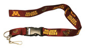 Minnesota Golden Gophers Breakaway Lanyard with Key Ring