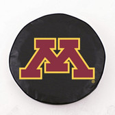Minnesota Golden Gophers Black Tire Cover, Large