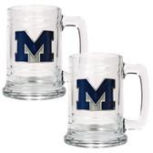 Michigan Wolverines Tankard Mug Set