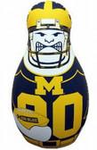 Michigan Wolverines Tackle Buddy Punching Bag
