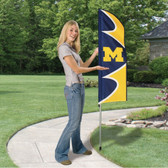 Michigan Wolverines Swooper Flag Kit