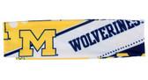 Michigan Wolverines Stretch Patterned Headband