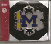Michigan Wolverines Snowflake Ornament MWSFCO