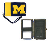 Michigan Wolverines Shell Wristlet