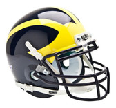 Michigan Wolverines Schutt Mini Helmet