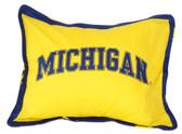 Michigan Wolverines Pillow Sham
