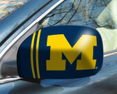 Michigan Wolverines Mirror Cover - Small