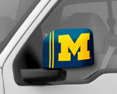 Michigan Wolverines Mirror Cover - Large