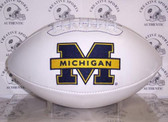 "Michigan Wolverines Embroidered Logo ""Signature Series"" Football"