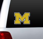 Michigan Wolverines Die-Cut Window Film - Large
