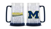 Michigan Wolverines Crystal Freezer Mug 9413159411