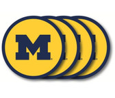 Michigan Wolverines Coaster Set - 4 Pack
