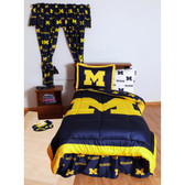 Michigan Wolverines Bed in a Bag (King)
