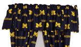 "Michigan Wolverines 84"" x 15"" Valance"