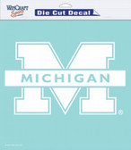 "Michigan Wolverines 8""x8"" Die-Cut Decal"