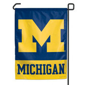 "Michigan Wolverines 11""x15"" Garden Flag"