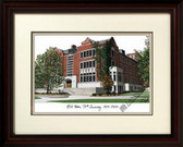 Michigan State University: Union 75th Anniversary Alumnus Framed Lithograph