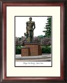 Michigan State University: Spartan Statue Alumnus Framed Lithograph