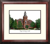 Michigan State University: Linton Hall Alumnus Framed Lithograph