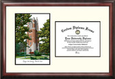 Michigan State University: Alumni Chapel Scholar Framed Lithograph with Diploma