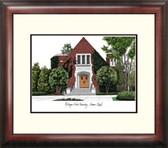 Michigan State University: Alumni Chapel Alumnus Framed Lithograph