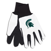 Michigan State Spartans Two Tone Gloves - Adult