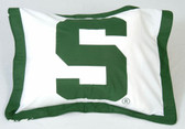 Michigan State Spartans Pillow Sham