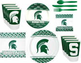 Michigan State Spartans Party Supplies Pack #2