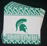 Michigan State Spartans Lunch Napkins