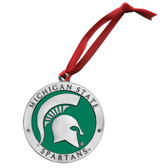 Michigan State Spartans Logo Ornament