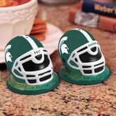 Michigan State Spartans Helmet Salt/Pepper Shakers