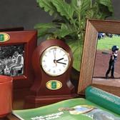Michigan State Spartans Desk Clock