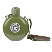 Michigan State Spartans Canteen with Compass