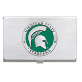 Michigan State Spartans Business Card Case Set