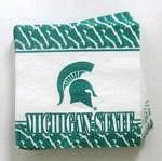 Michigan State Spartans Beverage Napkins