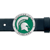 Michigan State Spartans Belt Buckle