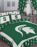 Michigan State Spartans Bed in a Bag (Full)
