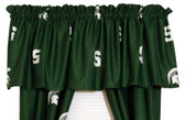 "Michigan State Spartans 84"" x 15"" Valance"