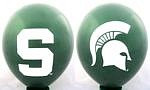 "Michigan State Spartans 11"" Balloons"