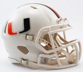 Miami Hurricanes Speed Mini Helmet