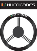 Miami Hurricanes Poly-Suede Steering Wheel Cover