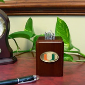 Miami Hurricanes Paper Clip Holder